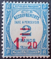 R1615/1172 - 1929 - TIMBRE TAXE - N°64 NEUF** - Cote : 130,00 € - 1859-1955 Mint/hinged