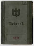 Wehrpaß, Heer, Landsturm, Ellwangen Jagst - Documentos