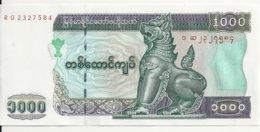 MYANMAR 1000 KYATS ND2004 UNC P 80 - Myanmar