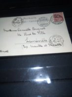 Convoyeur BLAINVILLE A ST DIE  Sur CP AFFR SUISSE BERNE 1901 Daguin - Poste Ferroviaire