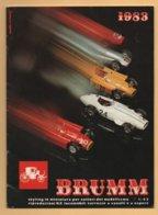 Catalogue BRUMM 1983 :Fiat ; Ferrari ; Lancia ; Alfa Romeo ; Jaguar ; Porsche ; Diligence  ; Etc - Catalogues & Prospectus