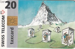SUIZA. Touristic Spots. Matterhorn, Zermatt. 09/1996. SUI-CP-06C. (233) - Suiza