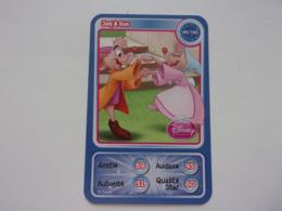 Carte Disney AUCHAN  Jaq & Gus Princesse - Autres Collections