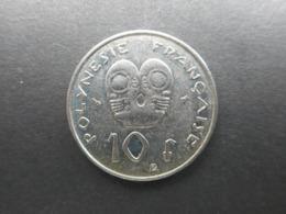 French Polynesia 10 Francs 1998 - French Polynesia