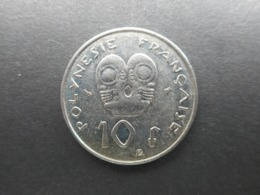 French Polynesia 10 Francs 1998 - Frans-Polynesië