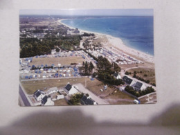 D 29 - Ile Tudy - La Grande Plage Vers Sainte Marine - Au Premier Plan , Le Camping Municipal - Ile Tudy