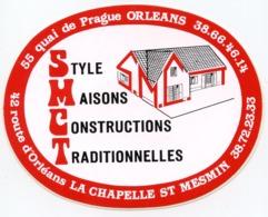 AUTOCOLLANT SMCT LA CHAPELLE ST MESMIN  ORLEANS - Stickers