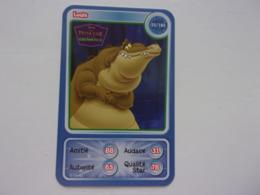 Carte Disney AUCHAN  Louis La Princesse Et La Grenouille Alligator Caiman - Autres Collections