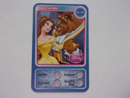 Carte Disney AUCHAN  Belle & La Bête Princesse - Autres Collections