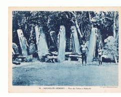 NOUVELLES  HEBRIDES PLACE DES TABOUS A MALLICOLLO Maxi Carte  240x180     Mx51 - Vanuatu