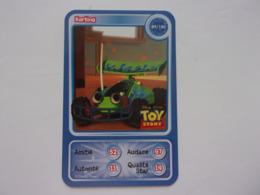 Carte Disney AUCHAN  Karting TOY STORY Car Auto Carro Voiture - Autres Collections