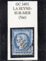 Var - N° 60C (défx) Obl GC 3401 La Seyne-sur-Mer - 1871-1875 Cérès