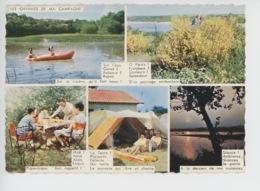 Les Charmes De Ma Campagne : Sur L'eau, O Fleurs, Midi, La Tnte, Silence...(cp N°1681 Chapeau) Vacances Camping - Humour