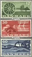 Dänemark 378-380 (kompl.Ausg.) Postfrisch 1960 Landwirtschaft - Denmark