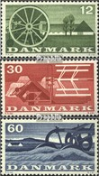 Dänemark 378-380 (kompl.Ausg.) Postfrisch 1960 Landwirtschaft - Dänemark