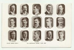 THE AUSTRALIAN CRICKET TEAM 1905 POSTCARD PHILCO SERIES 6003 - NV FP - Australia