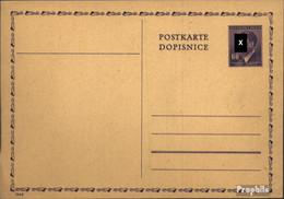 Böhmen Und Mähren P15I Amtliche Postkarte Ungebraucht Mi.-Nr.: P15I Amtliche Postkarte - Boemia E Moravia