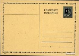Böhmen Und Mähren P14 Amtliche Postkarte Ungebraucht Mi.-Nr.: P14 Amtliche Postkarte - Boemia E Moravia