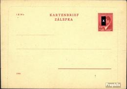 Böhmen Und Mähren K4II B Amtlicher Kartenbrief Ungebraucht Mi.-Nr.: K4II B Amtlicher Kartenbrief - Boemia E Moravia