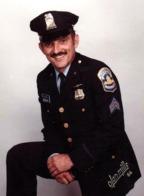Photo Couleur Originale Portrait D'un Policier Américain De Washington (district De Columbia) - Olan Mills 1984 - Métiers