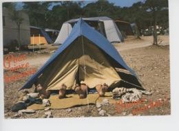 Les Joies Du Camping : Pour Vivre Heureux Vivons Couchés (n°22804) - Humour