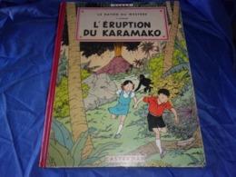 BEL ETAT HERGE Les Aventures De Jo,zette Et Jocko,l'éruption Du Karamako 1952 ,2e épisode - Hergé