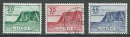 Norvège YT N°345/347 Association Touristique Oblitéré ° - Norvège