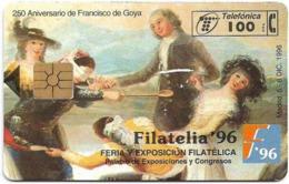 Spain - Telefónica - Filatelia '96 - Goya - P-230 - 12.1996, 100PTA, 6.000ex, Mint (check Photos!) - España