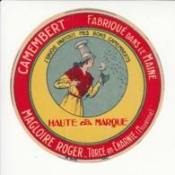 Etiquette De Fromage Camembert - Magloire - Torcé En Charnie - Mayenne. - Fromage