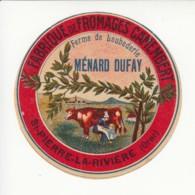 Etiquette De Fromage Camembert - Ménard Dufay - St Pierre La Rivière - Orne. - Fromage