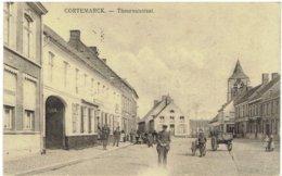 CORTEMARCK - Thouroutstraat - Duitse Feldpost 1915 - Kortemark
