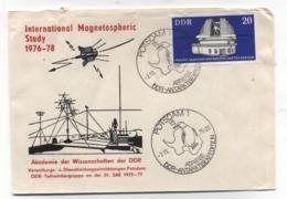 Germany DDR ANTARCTIC COVER 1975 AKADEMIE DER WISSENSCHAFTEN DER DDR - Briefmarken