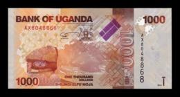 Uganda 1000 Shillings Antelopes 2010 Pick 49a SC UNC - Uganda