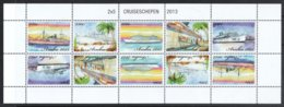 Aruba 2013**, Kreuzfahrtschiffe, Kaktus Cereus Sp. / Aruba 2013, MNH, Cruise Ships, Cactus Cereus Sp. - Sukkulenten