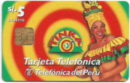 Peru - Telefónica - La Tinka, 5Sol, Used - Perú