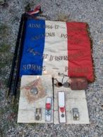 Lot De Porte-étendard 144ème Rgt D'Infanterie - Equipment