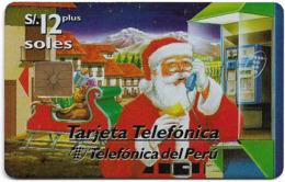Peru - Telefónica - Navidad Christmas '97, 12Sol, 20.000ex, Used - Perú