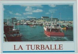 Loire Atlantique : LA  TURBALLE  : Vues   Port  1994 - La Turballe