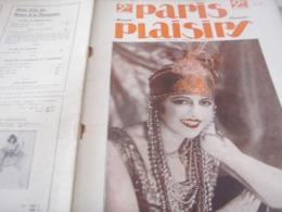PARIS PLAISIRS / E RAHNA/JICKIS/ PALACE /SINGE A LA MODE GALLAND /ZULAIKA / - Livres, BD, Revues