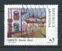 ARGENTINA 1988 (O) USADOS MI-1911 YT-1616 CAMINITO - Argentinien