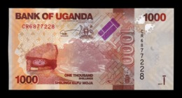 Uganda 1000 Shillings 2017 Pick 49e SC UNC - Uganda