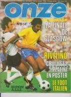 Football Magazine ONZE N° 5 Edition ASSE 1976 - Libros, Revistas, Cómics