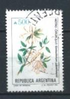 ARGENTINA 1989 (O) USADOS MI-1983 YT-1689  FLORES - Argentinien