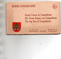 MOERE COUCKELAERE - Grand Canon De Leugenboom - Carnet 10 Cartes - Guerre 1914-18