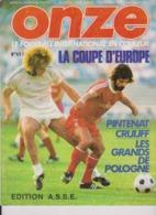 Football Magazine ONZE N° 4 Edition ASSE 1976 - Libros, Revistas, Cómics