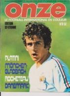 Football Magazine ONZE N° 8 Edition ASSE 1976 - Libros, Revistas, Cómics