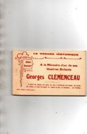 Georges CLEMENCEAU - Carnet 12 Cartes - France