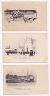 CP 59 Exposition LILLE 1902 Lot De 12 Cartes - Cartes Postales