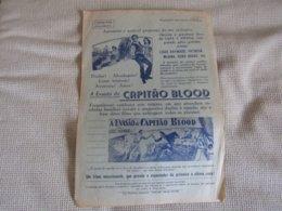 Programme Du Film Evasion De Captain Blood Avec Louis Hayward - Programa Do Filme A Evasão Do Capitão Blood 1958 - Programmes