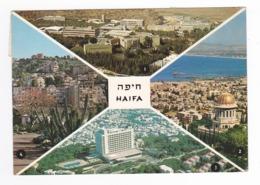 Israël HAIFA En 4 Vues N°8897 Technion Mt Carmel Hadar Hacarmel VOIR TIMBRE - Israele